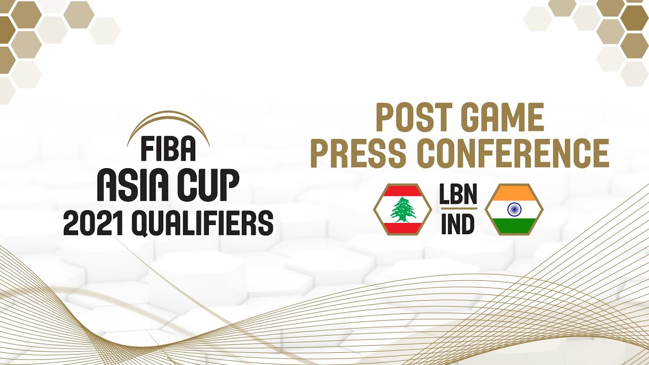 Lebanon v India - Press Conference