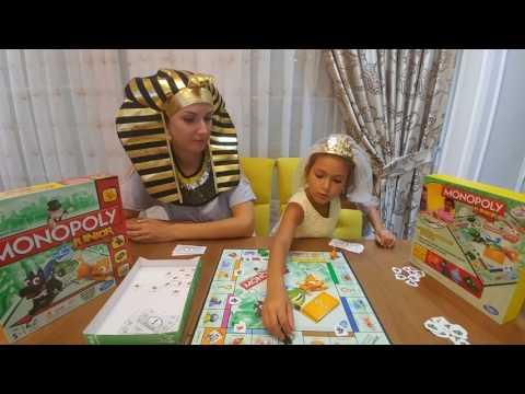 Güneş kraliçesi ve firavun monopoly junior oynuyor.Kim kazanacak dersiniz