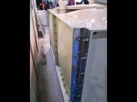 DOHA INDUSTRY WATER TANK in BIG 5 SHOW DUBAI, Nov 2012