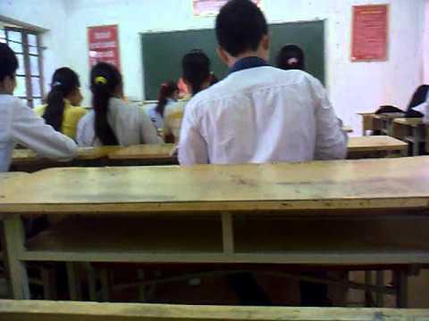 12A4- Đầu giờ lên lớp hôm đi học cuối cùng tại THPT Yên Lạc