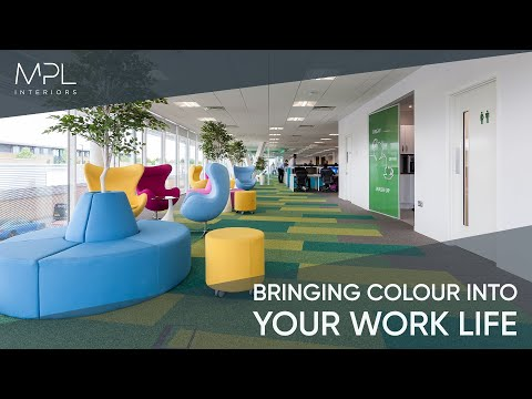 Brighten up your everyday office environment with a burst of colour