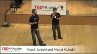 TEDxKrakow-Marcin Iwiński and Michał Kiciński-Think Different - it's still extremely up to date(, 2010-11-05T23:30:24.000Z)