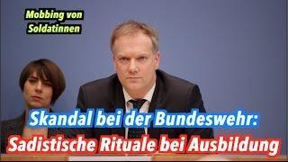 Bundeswehr-Skandal: Sadistische Rituale bei Ausbildung von