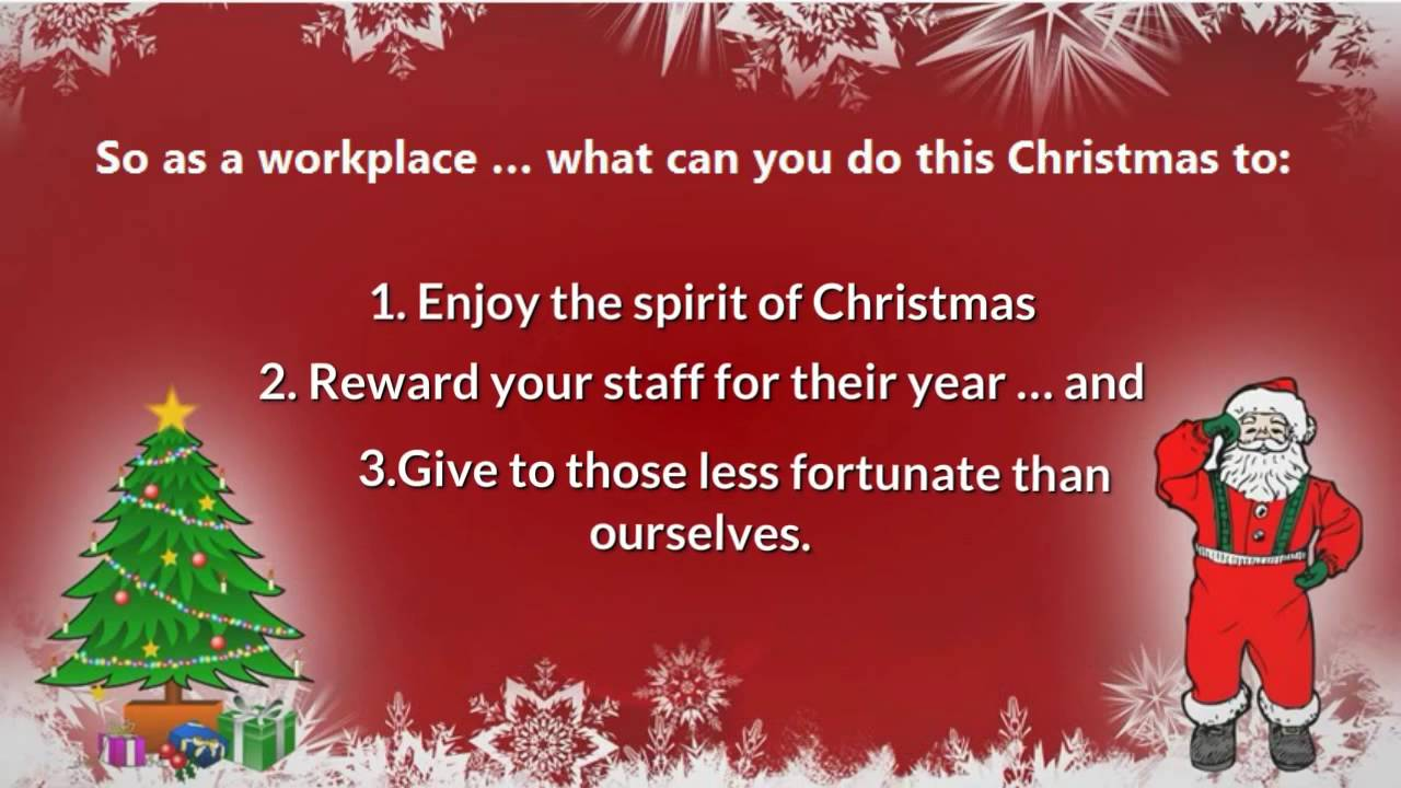 Three ideas how your work can give back this Christmas - Corporate ...