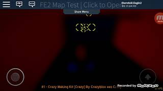 Roblox Flood Escape 2 Map Test Crazy Making Kit|by Crazyblox ees Crazy| Progrees2