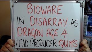 Bioware In Disarray As Dragon Age 4 Lead Producer Quits Too