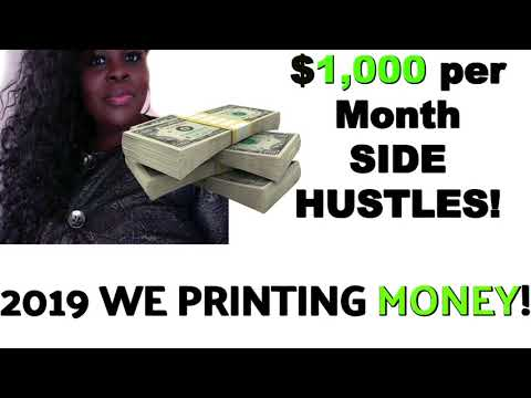 $1,000 PER MONTH SIDE HUSTLES - ULTIMATE WAYS TO MAKE EXTRA MONEY FROM HOME!