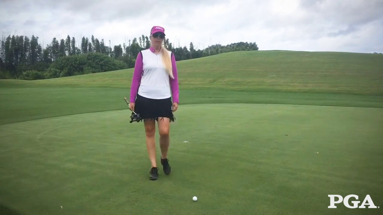 Heather Angell, PGA: A Quick Tip to Help Golfers Make More Putts