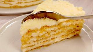 БЕЗ ДУХОВКИ. Обалденный торт ПЛОМБИР.