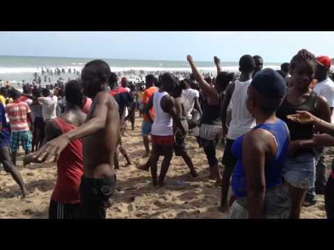 Kokrobite Beach, Accra