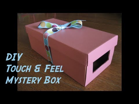 Diy Touch Amp Feel Mystery Box Youtube