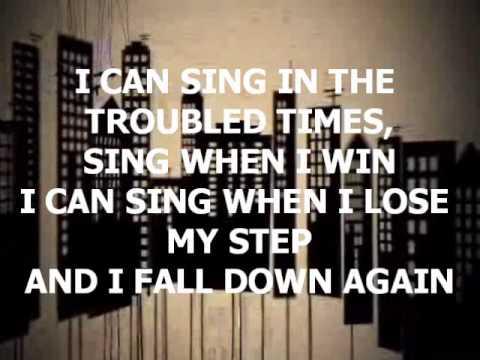 How Can I Keep from Singing - Chris Tomlin w/ lyrics