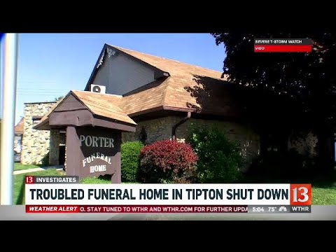 Funeral Home Shut Down