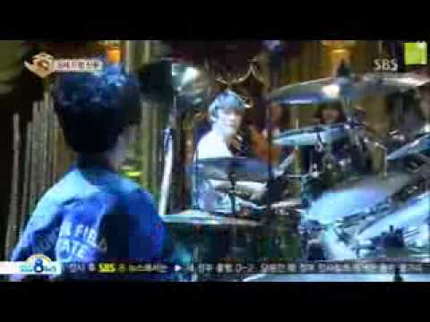 [ENG] 130223 FT ISLAND - MinHwan Drum Battle