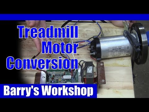 Simple Variable Speed Treadmill Motor Electrical Conversion Youtube