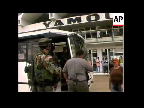 WRAP Korhogo evacuees arrive, pro-govt, anti-Western rally
