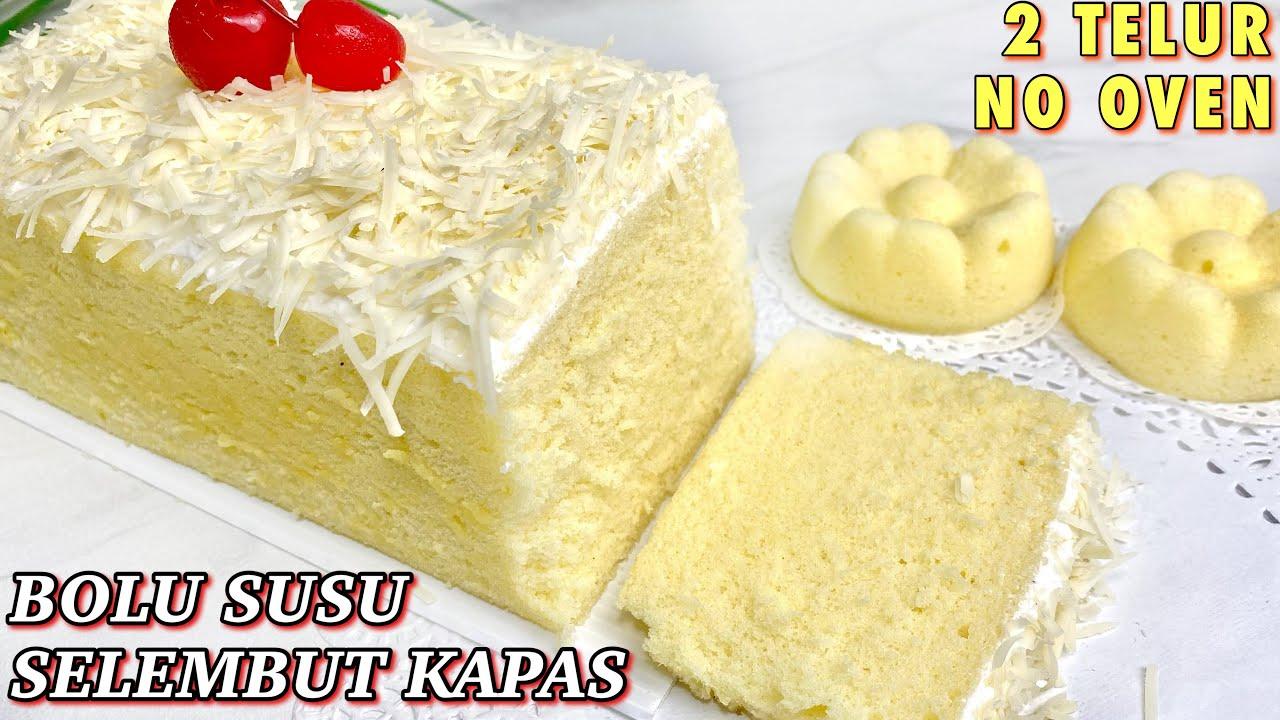 RESEP BOLU SUSU EMPUK LEMBUT DAN WANGI BANGET