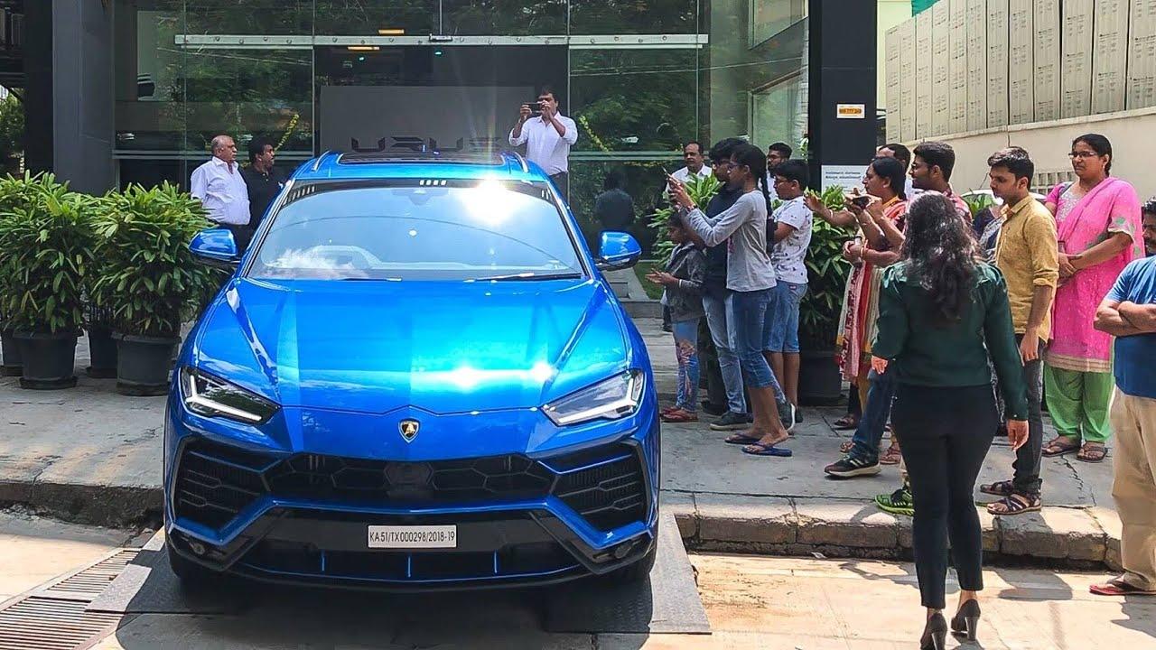 Blu Eleos Lamborghini URUS Delivery , Best Color on Urus?