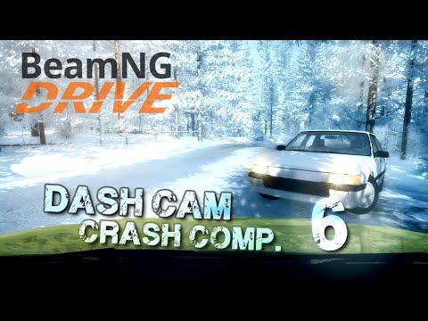 BeamNG.drive - Dash Cam Crash Compilation #6
