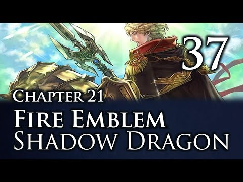 "Part 37: Let's Play Fire Emblem Shadow Dragon, Classic Merciless, Chapter 21 - ""CamUUU"""