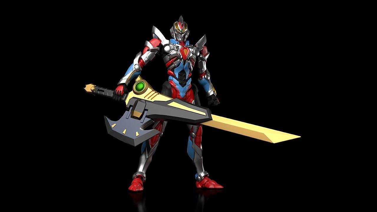【グリッドマンキャリバー変形解説】超合体超人 DXフルパワーグリッドマン
