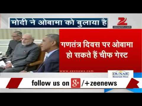 PM Modi invites Barack Obama for 2015 Republic day celebrations
