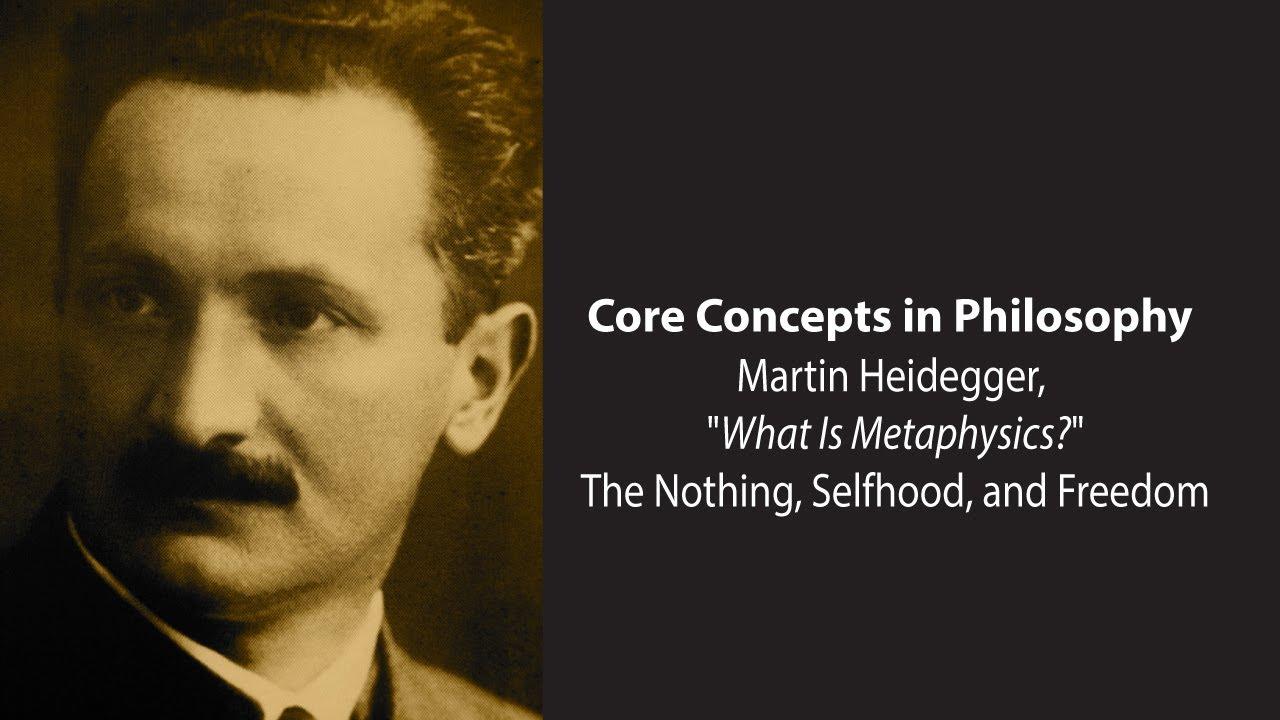 Heidegger basic writings