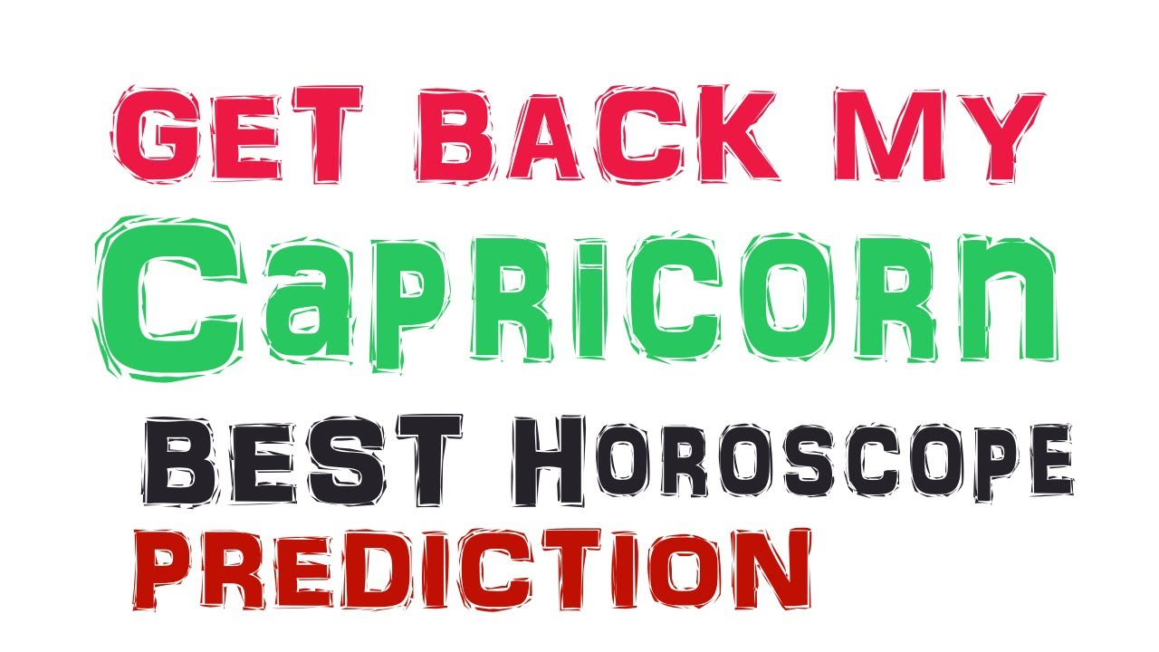 How To Get A Capricorn Man Back After Breakup