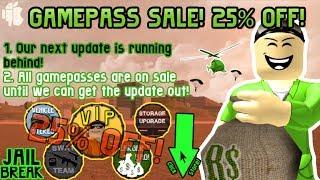 Roblox Jailbreak (Sale) (Beta)