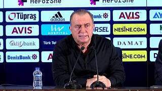 Fenerbahçe-Galatarasay derbisi sonrası Fatih Terim'in açıklamaları
