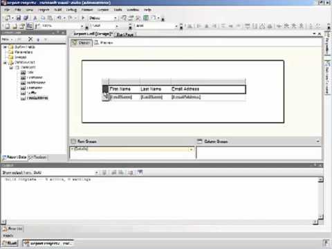 writing a basic report in sql server 2008 reporting service - Sql Report Writing