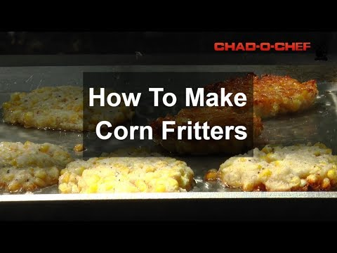 How to Make Corn Fritters - A BraaiBoy TV Recipe