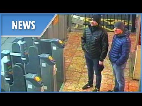 Novichok poisonings: new CCTV images of suspects - 동영상