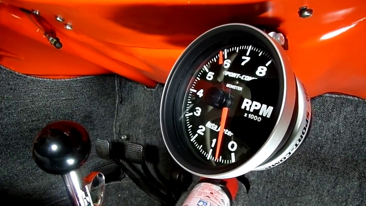small resolution of vw beetle tachometer installation