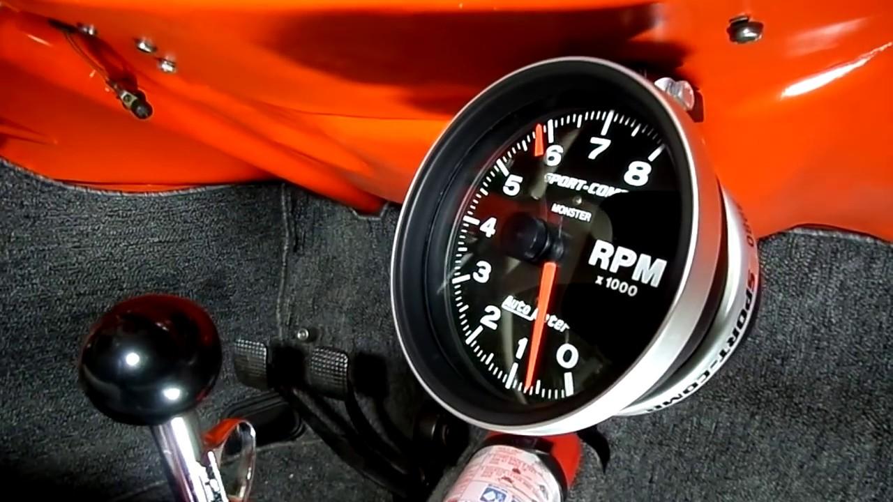 vw beetle tachometer installation [ 1280 x 720 Pixel ]