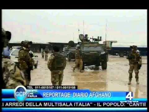 """Militari in Missione 2012 Afghanistan """"ISAF"""" - Reportage Quartarete Tv - www.albertoalpozzi.it"""