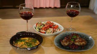 Песня грузинской кухни. Вып.4. Грузинский салат. Абхазура. Чирбули