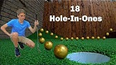 Scoring 18 HOLE-IN-ONES *Mini Golf Trick Shots*That&#39s Amazing