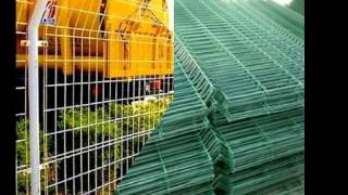 Plastic Coated Fence Panels Factory