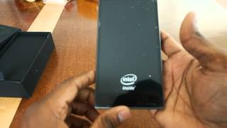Lenovo K900 Unboxing (Intel phone)