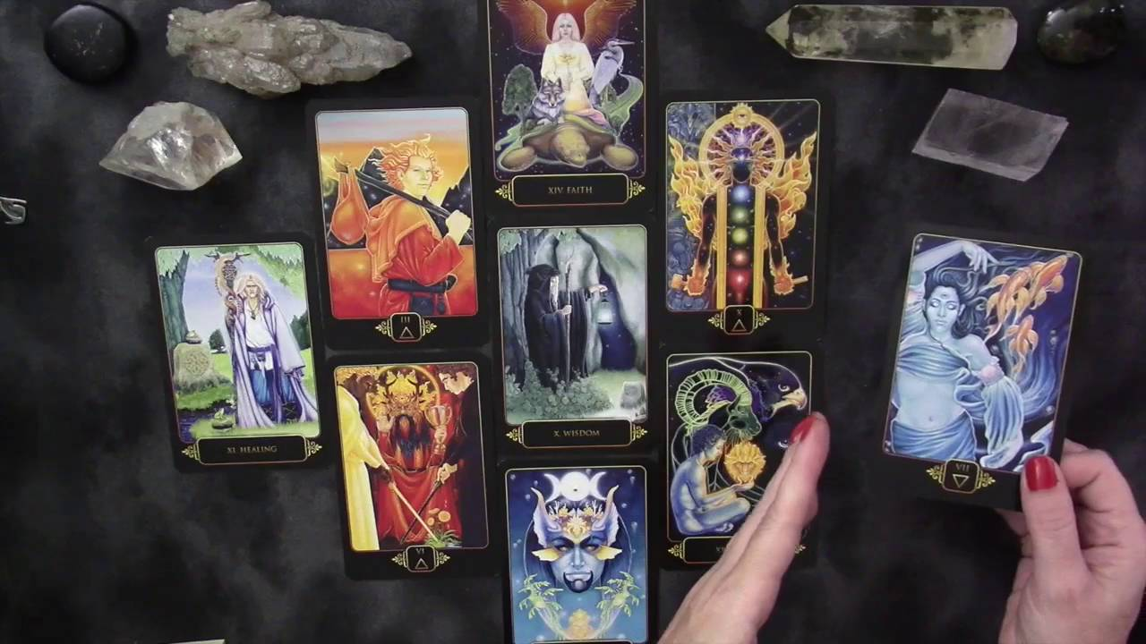 Dreams Of Gaia Tarot Pt 3 Sample Reading Youtube