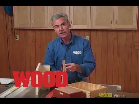 12 Must Have Jigs For Your Tablesaw - (#10) Spline Slotting Jig - WOOD magazine