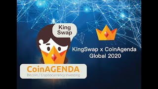 Kingswap x CoinAgenda Global October 2020