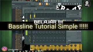 Download lagu Tutorial Bikin Bassline Breakbrat DJ Noka AxL FL STUDIO