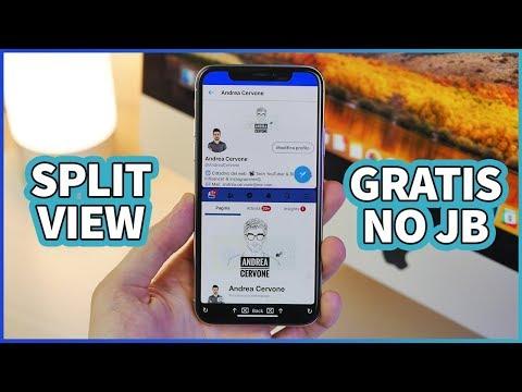 Come aprire DUE APP su IPHONE insieme! - SPLIT VIEW iOS 11