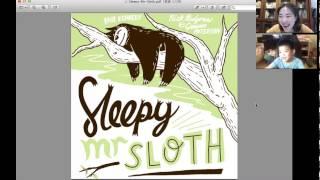 Baixar 英文故事書 Sleepy Mr. Sloth / with Hans