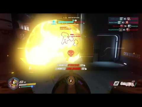 """Overwatch Bastion """"charge"""" Achievement/trophy"""