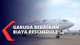 Garuda Indonesia Bebaskan Biaya Calon Penumpang yang Kena Macet Akibat Kepulangan Rizieq Shihab