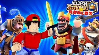 ROBLOX Aventura - CLASH ROYALE EN ROBLOX!!