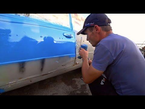 Покраска авто ваз своими руками видео